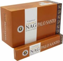 Zandkleurige Yogi & Yogini naturals Wierook Golden Nag Palo Santo (15 gram)