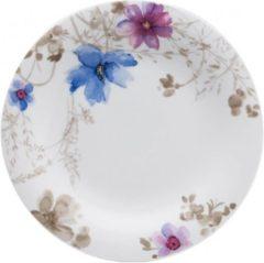 Witte Villeroy & Boch Mariefleur Gris Dinerbord - 27 cm - Porselein