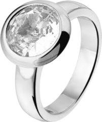 Zilveren The Jewelry Collection Ring Zirkonia - Zilver Gerhodineerd
