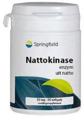 Springfield Nattokinase 90 softgels