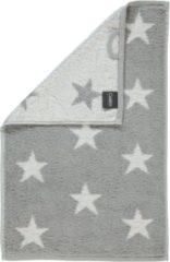 Cawö Stars (Klein) Badhanddoek - Zilver - 50x100