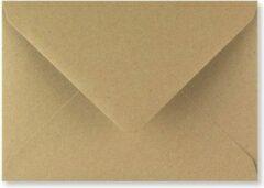 Bruine FreshPaper Kraft enveloppen 13,3x18,4 cm 100 stuks