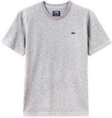 Grijze Lacoste T-shirt heren Sportshirt - Maat S - Mannen - zwart