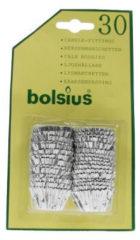 Bolsius Kaarsaanpassing Zilver Blisterverpakking (30st)