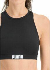 Puma zwemtop racerback polyamide/elastaan zwart mt S