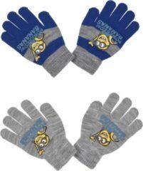 Grijze Handschoenen Minions (2 paar)