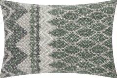 Linen & More New Kelim bosgroen Kussen 60 x 60 cm