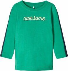 Groene Name It longsleeve Tipan leprechaun