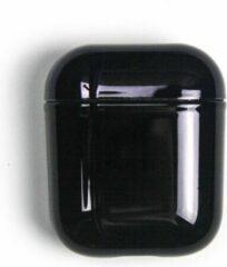 Landlit Metallic - Zwart - AirPods Case - AirPods 1 en 2