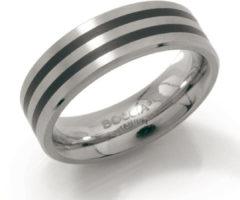 Zilveren Boccia Titanium 0101-17 Ring - Titanium - Bicolor