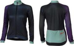 XLC - Fietsshirt Race Lange Mouw - Dames - Blauw/Paars - Maat L