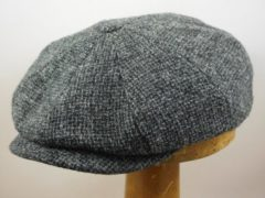Stetson Hatteras 'Peaky Blinders' Ruige tweed grijs maat 57