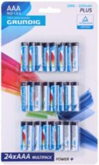 Xenos Grundig power+ batterijen - AAA - 24-pack