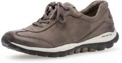 Gabor rollingsoft 96.965.32 nubuck rollende wandelsneaker GRIJS Grijs - Maat 38.5