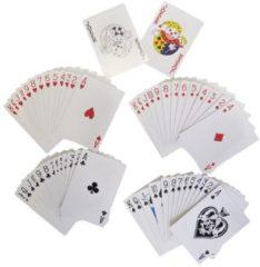 Rode ARO houseware Speelkaarten rood/blauw 52krt 12 pak
