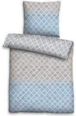 Bettwäsche, Biberna, »Laci«, mit geometrischem Muster