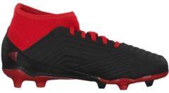 Fußballschuhe Predator 18.3 FG mit integriertem Strumpf für optimalen Halt adidas performance CBLACK/FTWWHT/RED