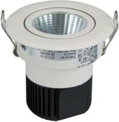Vellight Professionele Plafondlamp - Cob Led 4.4 W - Rond - Witte Behuizing