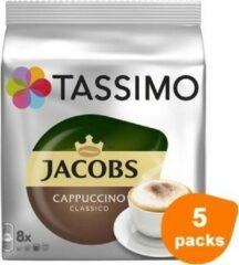 Tassimo - Jacobs Cappuccino Classico - 5x 8 T-Discs