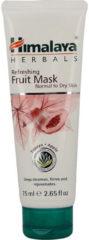 Himalaya Herb refreshing fruitmask normaal/droge huid 75 Milliliter