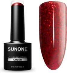 SUNONE UV/LED Hybrid Gel Rode Nagellak 5ml. - C17 Cecylia