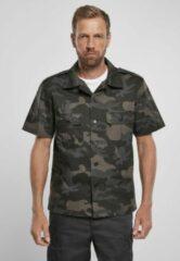 Brandit Blouse - Shirt - Ripstop - Shortsleeve - Urban - Casual - Streetwear Overhemd - Shirt Heren Overhemd Maat 3XL