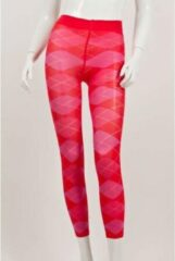 Burlington 3/4 legging maat 38/40 roze/rood geruit