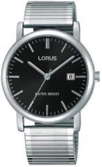 Lorus RG857CX9 Herenhorloge Rekband Zilverkleurig 37,5 mm