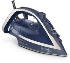 Tefal FV6830 Ultragliss Anti-Calc Plus Stoomstrijkijzer Blauw/Zilver