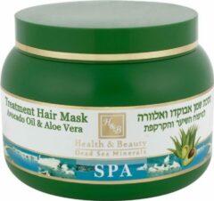 H&B Dead Sea Minerals Haarmasker Avocado / Aloe Vera 250 ml