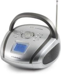 Zilveren AudioSonic RD-1565 - Draagbare radio (zonder CD-speler) - Zilver