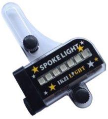 Transparante Ikzi Light Spoke Light 14 RGB LED - Fietsverlichting - 30 Verschillende Patronen