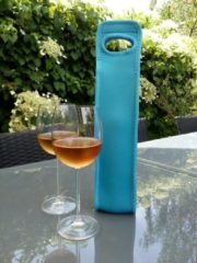 KOOZIE.EU - Wijnkoeler - Exclusief Blauw - isolerend - water - Champagne - koeler