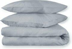 Antraciet-grijze Dream Sheets – Dekbedovertrek - 240x220 cm - Katoen - Lits-jumeaux - Grijs - Linnen Look