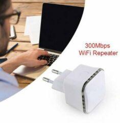 Merkloos / Sans marque Versterk heel eenvoudig je WiFi netwerk met deze WiFi Repeater ( Zwart kleur )