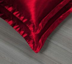 Beauty Silk - Satijnen Kussenslopen Set - Rood