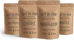 Café du jour vers gebrande koffiebonen proefpakket - 4 x 1 kg