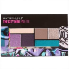 Beige Maybelline The City Mini Oogschaduw Palette - 450 Graffiti Pop