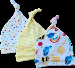 Babymuts set – Regenboog vogels