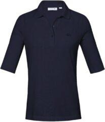 Poloshirt van 100% katoen met korte mouwen Van Lacoste blauw