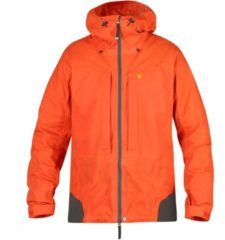 Fjällräven - Bergtagen Jacket - Softshelljack maat L, oranje/rood