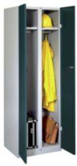 Hausmarke Mehrzweckschrank Modell 77K HxBxT 1800x600x500 mm RAL 7035/7016
