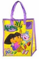 Paarse Dora de Explorer Dora Shopping Bag for Kids