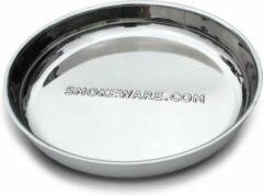 Smokeware Druippan RVS - Lekbak - Opvangbak- Ø 35,5 cm - Big groen Egg - Kamado Joe