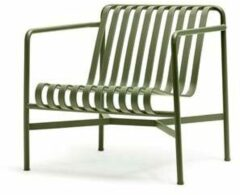 Groene HAY Palissade Lounge Chair Low