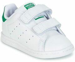 Groene Adidas Stan Smith CF I Sneakers Kinderen - Ftwr White/Ftwr White/Green