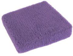 Aufstehhilfe Keilkissen Wolle uni 40 x 40 x 10/6 cm Linke Licardo lila