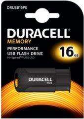 Zwarte Duracell DRUSB16PE geheugenmodule