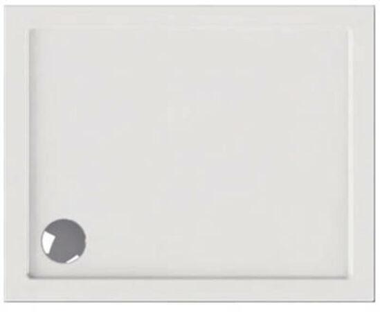 Afbeelding van Wisa Maia douchebak, acryl, wit, (lxbxh) 1000x800x35mm rechthoekig, hoekmodel