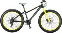 26 Zoll Herren Fat Mountainbike 21 Gang Hoopfietsen... schwarz-gelb